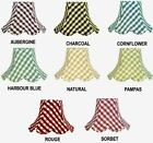 Gingham Check Lampshade Wall Lights Ceiling Lights Table Lamps Floor Lampshades