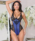 iCollection Tale Of Time Teddy Lingerie - Women's