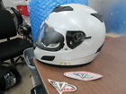 Vega V-Tune Vtune Bluetooth Full Face Sun Shield White Motorcycle Helmet