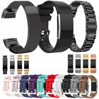Sport Soft Silicone / Milanese Metal Watch Band Wrist Strap For Fitbit Charge 2