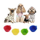 New Collapsible Dog Cat Pet Silicone Travel Feeding Bowl Water Dish Feeder BG