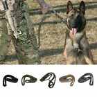 Outdoor Puppy Dog Training Walk Military Tactical Leash Elastic Bungee Strap BA