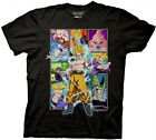 Dragon Ball Z Character Frame Collage Anime Cartoon TV Cotton Adult T Shirt