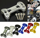 Handlebar Fat Bar Risers Mount Clamp Top Cover Fit 2013-2016 BMW R1200GS GSA LC
