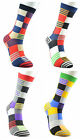 Men Casual Long Sock Stocking SockCherquered Checked Pattern Sock Combed Cotton
