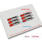 New Custom Name Flag Top Tube Stickers for Road Bike Bicycle Race cycling decals