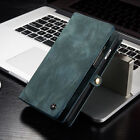 Leather Removable Magnetic Wallet Flip Card Case For Samsung Galaxy S8+ Plus S7
