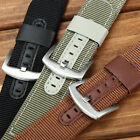 Leather Nylon Watch Strap Band For Samsung Gear Sport S3 S2 Classic / Frontier