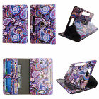 For Polaroid 8 inch Tablet Leather Slim Folio Stand ID Slots Cover Case we9