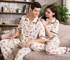 Comfortable 100% Cotton Lovers 2PCs Casual Sleepwear/ Pajama Sets M/L/XL/2XL/3XL