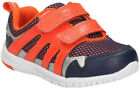 Clarks AZON MOVE Boys Navy Orange Washable First Trainers Shoes 4-7 FG Fit BNIB