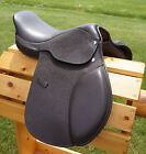 """12"""" 13"""" 15"""" Brown Close Contact EVENT Jumping Show Saddle Only- New Just in"""