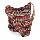 Ladies Canvas / Slouch Beach Shoulder Bag Summer Holiday Tote Festival Handbag