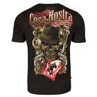 Extreme Hobby Men's Cosa Nostra Tee Shirt Black