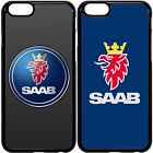 Saab case cover for Apple iPhone 4 5s 6s 7 8 plus, Samsung Galaxy.