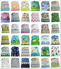 Children's Toddler Duvet Cover and Pillowcase - Girls and Boys Bedding 120 x 150