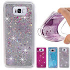 Shockproof Case Bling Liquid Glitter Clear Soft Cover Case  For LG Cell Phones
