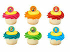 Minions Despcable Me 3 Three cupcake rings (24) party favor cake topper