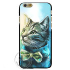 Adorable Cat Looking Far Away Hard Plastic Case for iPhone