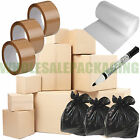 HOUSE HOME REMOVAL MOVING PACKING STORAGE CARDBOARD BOXES SMALL MED LARGE XL