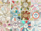 First Edition scrapbooking paper 6x6, 8x8 full pack or single sheets