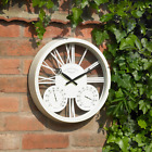 Engraved Personalised 15 Inch Rosewood Clock & Barometer Black or White. Gift.