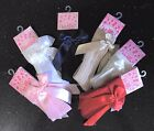 Baby Girls Spanish Style Knee High Ribbon / Bow Socks From 0-3M To 18-24M