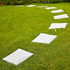 """Plastic Slabs Patio Garden Paving Stepping Stones Walkway 30"""" Square Flags Flag"""
