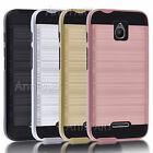 Hybrid Tough Armor Case Protective Rubber Phone Cover For Alcatel Ideal 4G LTE