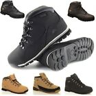 MENS GROUNDWORK LIGHTWEIGHT LEATHER STEEL TOE CAP SAFETY WORK BOOTS TRAINERS SZ