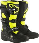 Alpinestars Youth Tech 7S Offroad Motorcycle Riding Boots Black Yellow