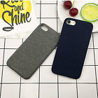 """For Iphone 6/6s 4.7"""" Cover Case Soft Denim+TPU  Shockproof  Back Protective Skin"""