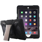 """Pepkoo Military Armor Heavy Silicone Stand Shockproof Case For iPad 9.7"""" 2017"""