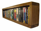 Rustic Chunky DVD, Blu-Ray, Paperback & CD Wall Storage Reclaimed Timber