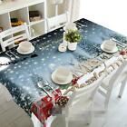 3D Snow tree 8 Tablecloth Table Cover Cloth Birthday Party Event AJ WALLPAPER AU
