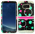For Samsung Galaxy S8 | S8 Plus - KoolKase Hybrid Case Bubble Circle Hard Cover