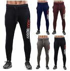 ROKCBERRY Mens Slim Fit Tracksuit Bottoms Skinny Jogging Joggers Sweat Pants