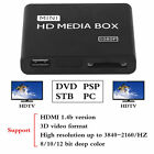 Full HD 1080P Disk HDD Media Player USB External Multimedia Media Player WR