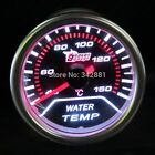 52mm Car Auto Gauge Meter WATER TEMPERATURE  SUPER WHITE  Smoked Effect DRAGON