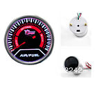 52mm Car Auto Gauge Meter Air Fuel Ratio SUPER WHITE  Smoked Effect DRAGON