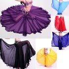 New Belly Dance Costumes 360 Long Skirt Full Circle Swing Skirt Dress Plus size