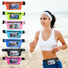 "US Sports Running Jogging Waist Band Belt Pouch Case Holder For Under 6"" Phones"