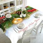 3D Xmas Tree 87Tablecloth Table Cover Cloth Birthday Party Event AJ WALLPAPER CA