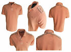 BAILEYS HERREN POLOSHIRT Garmed Wash Piqué ORANGE Gr. M XL BAUMWOLLE