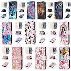 For iPhone SE 5 5s Relief Painted Premium Varnish Leather Card Pocket Case Cover