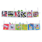 Beauty Non-toxic Baby Bed Sides Clip-on Pram Book Intelligence Development Toy