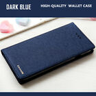 Luxury Wallet Silk Leather Magnetic Flip Case Cover for iPhone X 8 7 6s Plus S9