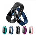 IID115 Smart Bracelet Sports Fitness Tracker Step Counter Activity Monitor Band