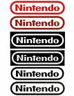 Nintendo Logo Sticker Decal Pick Color And Size