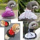 Small Dog Cat Bow Tutu Dress Lace Skirt Pet Puppy  Princess Costume Apparel HOT